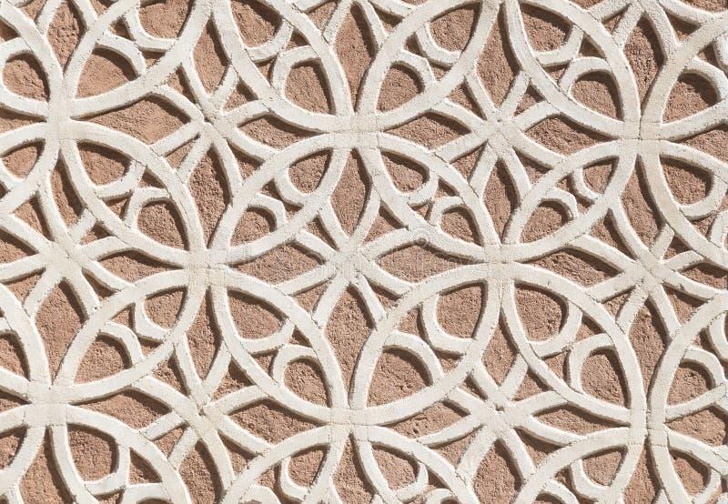 Espanha modelada de Segovia da decoração da parede foto de stock