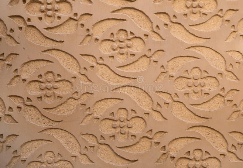 Espanha modelada mouro de Segovia da decoração da parede fotografia de stock royalty free