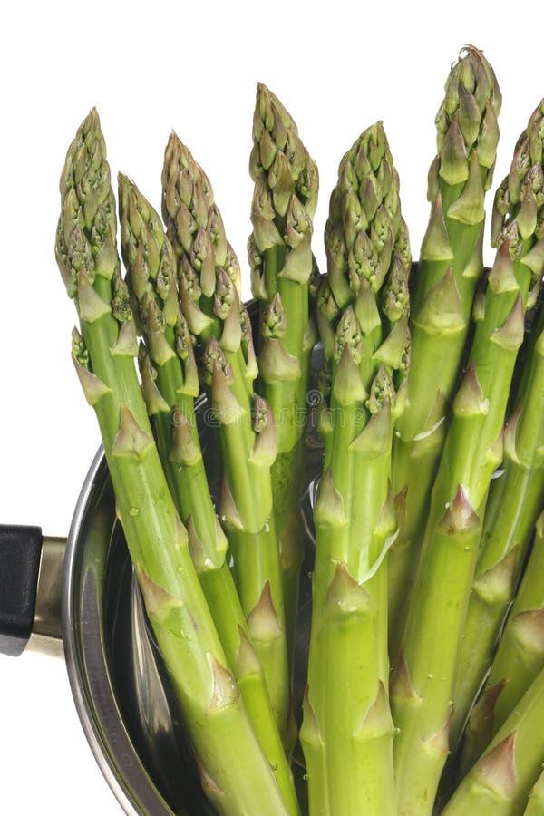 Espargos verdes imagens de stock