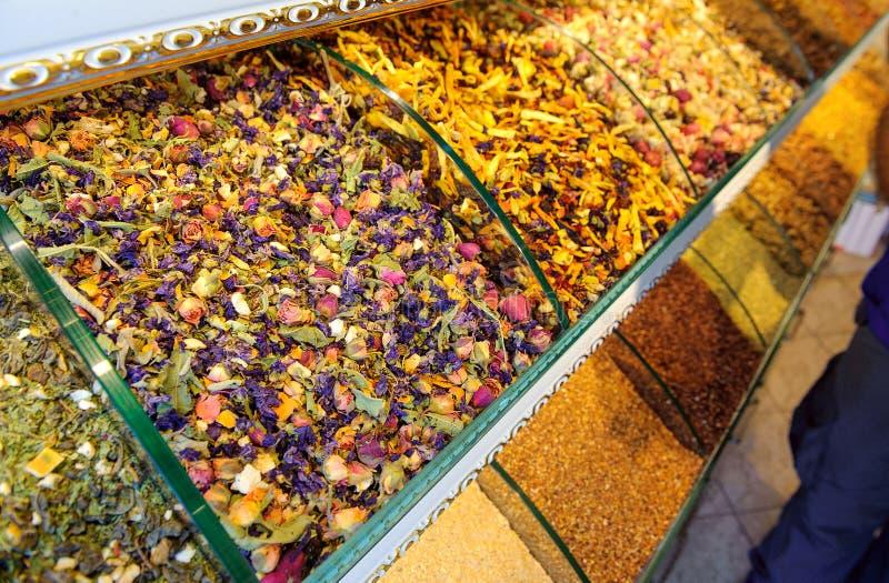 especia, especias, centro, este, mercado, bazar, turco, comida, Estambul, Dubai, pavo, colorido, rojo, tradicional, tienda, color imágenes de archivo libres de regalías