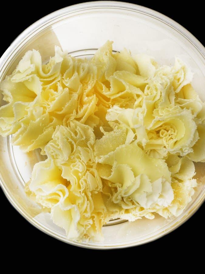 Especialidade do queijo suíço: Tete de Moine foto de stock