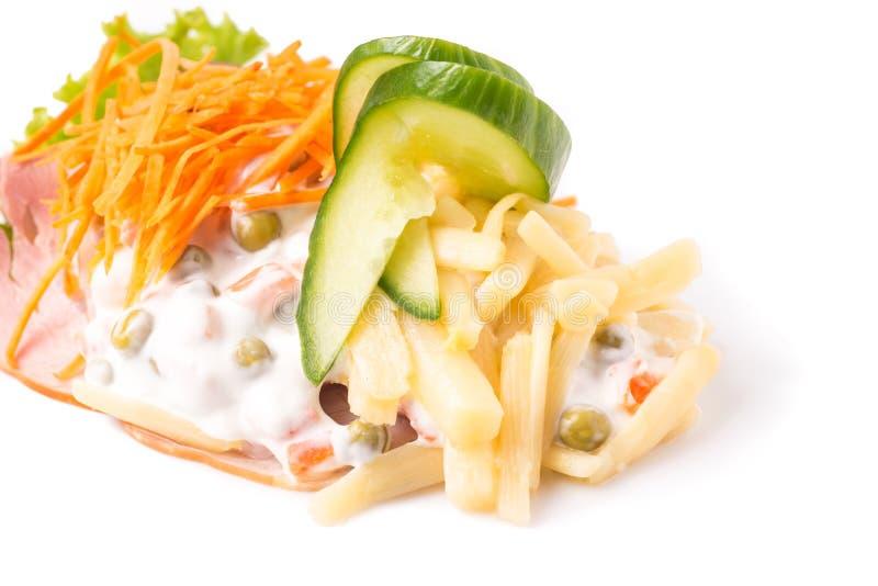 Especialidades dinamarquesas e pratos nacionais, sanduíche aberto de alta qualidade fotos de stock