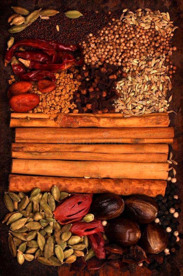 Especiaria indiana fotos de stock