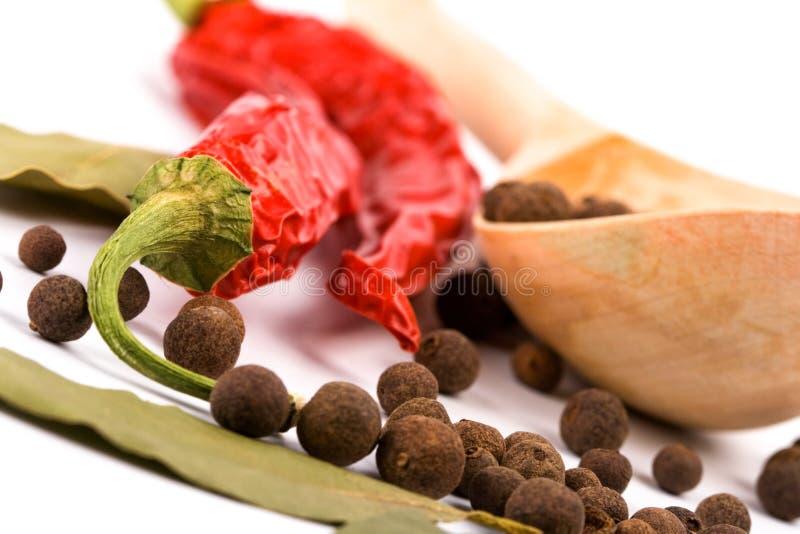 Download Especiarias foto de stock. Imagem de vermelho, pimenta - 12812198