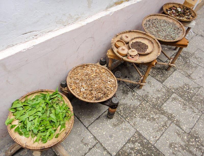 Especiarias de Zanzibar foto de stock royalty free