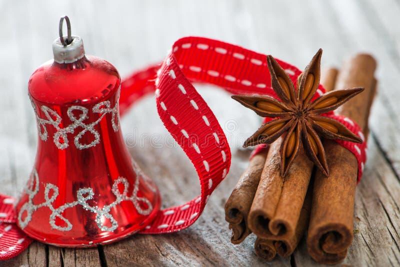 Especiarias do Natal fotos de stock