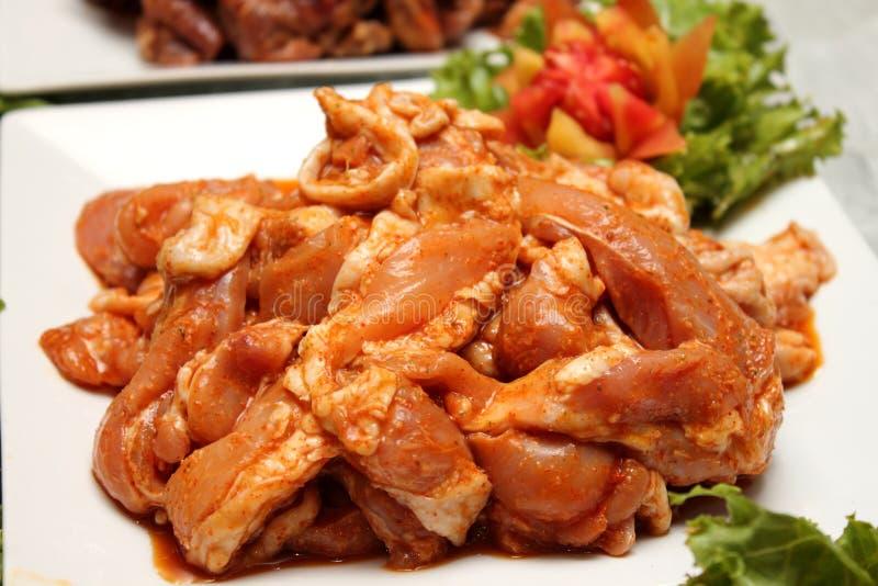 Especiarias postas de conserva carne de porco foto de stock royalty free