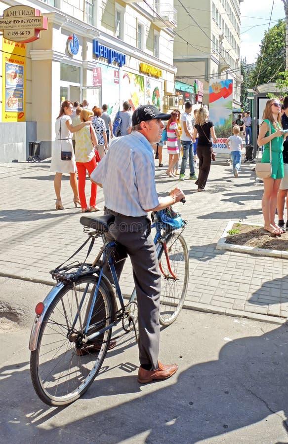 Espectador de la calle fotos de archivo libres de regalías