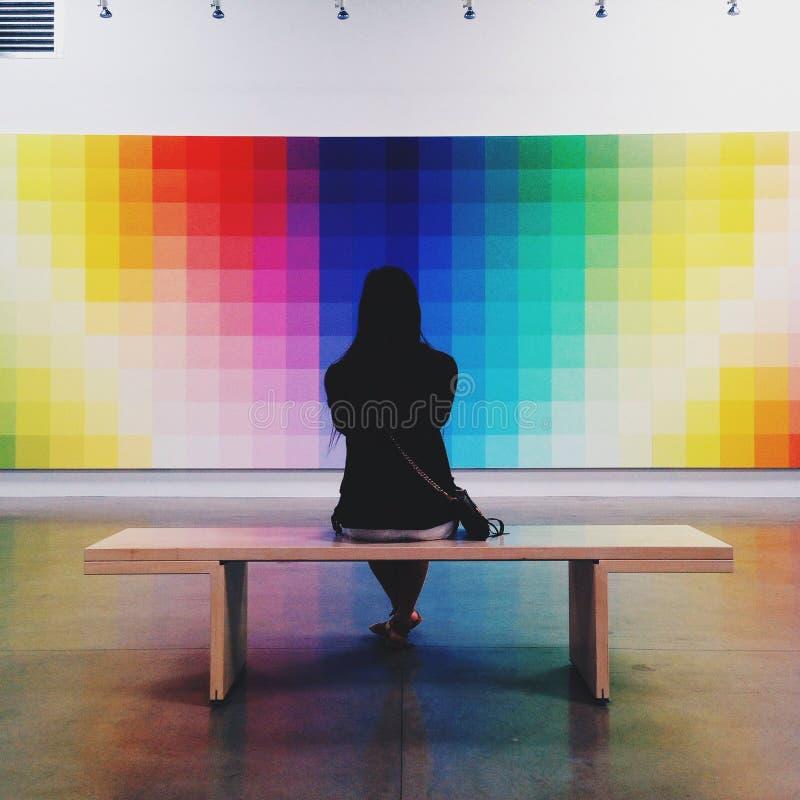 espectro foto de archivo libre de regalías
