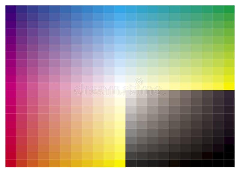 Espectro ilustração stock