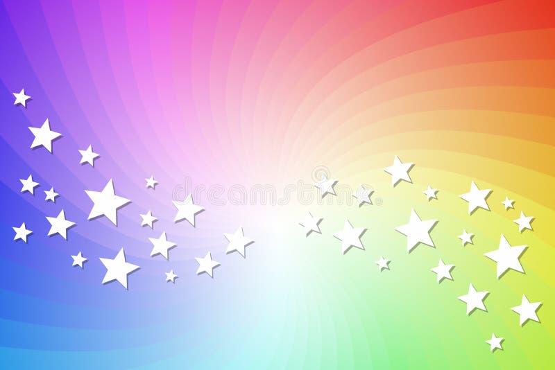 Espectro ilustração royalty free