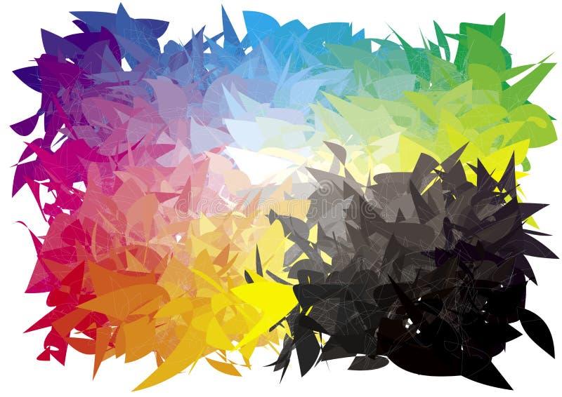 Espectro adicional ilustración del vector