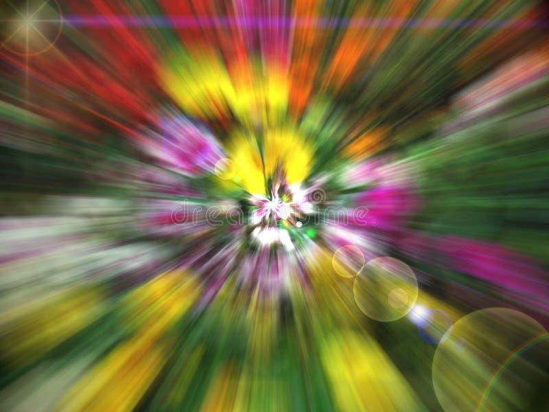 Espectro claro divino sensacional imagens de stock