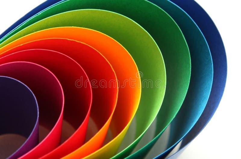 Espectro de arco del color fotografía de archivo