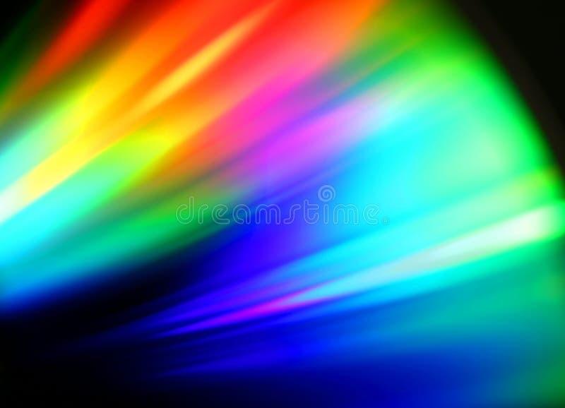 Espectro de color fotografía de archivo