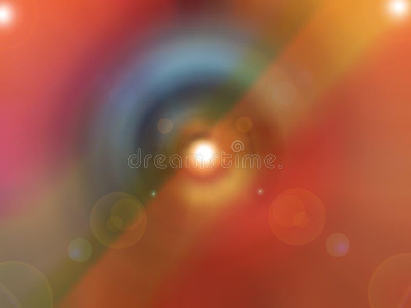 Espectro de color hermoso imagen de archivo libre de regalías