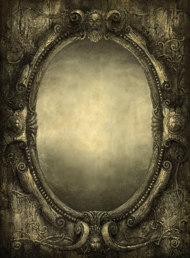 Espejo ilustración del vector