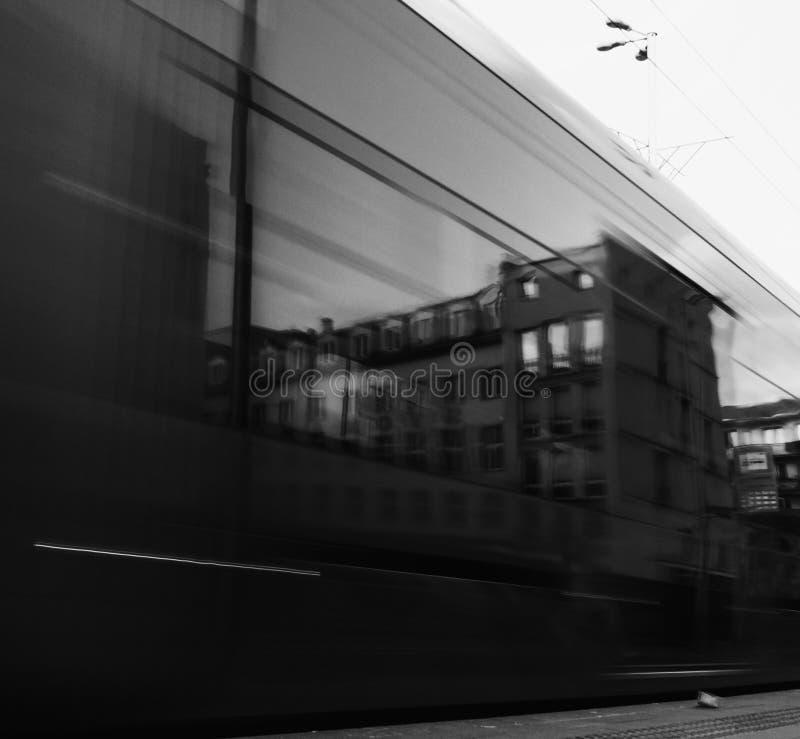 Espejo de Blured fotografía de archivo