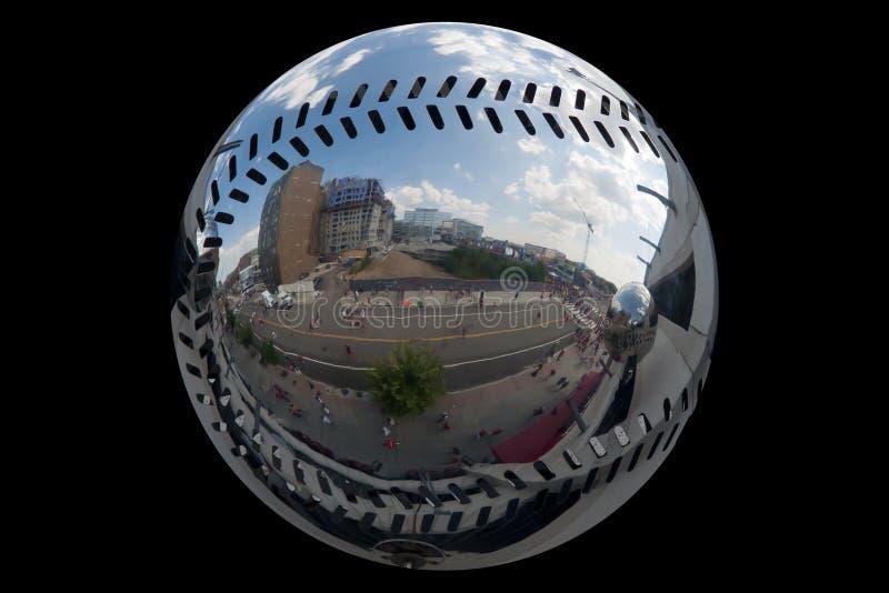 Espejo del béisbol foto de archivo libre de regalías
