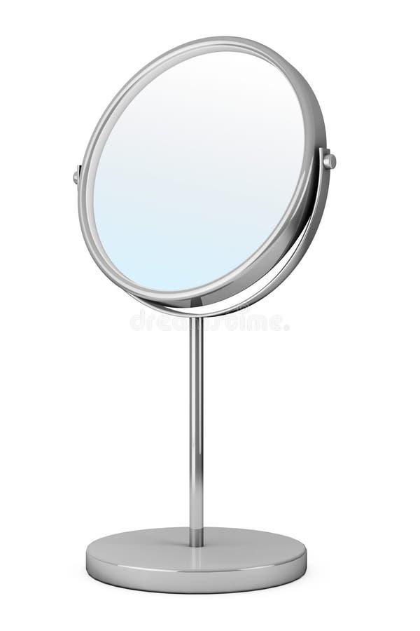 Espejo del maquillaje de Chrome stock de ilustración