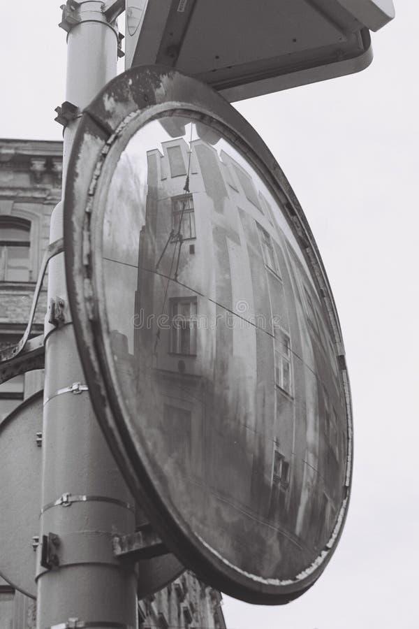 Espejo en la calle fotografía de archivo libre de regalías