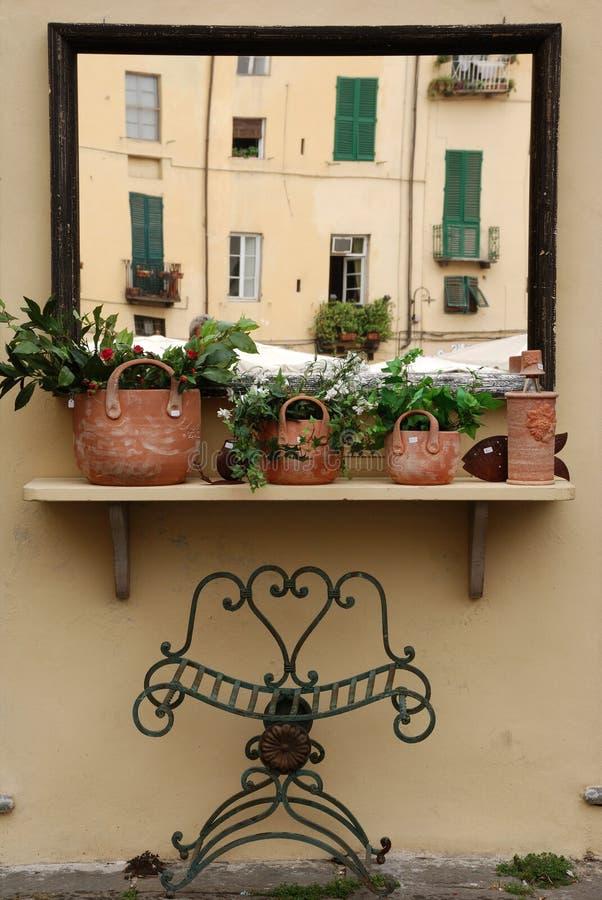 Espejo italiano fotos de archivo libres de regalías