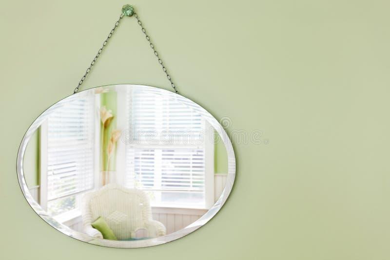 Espelhe o quarto refletindo fotos de stock royalty free