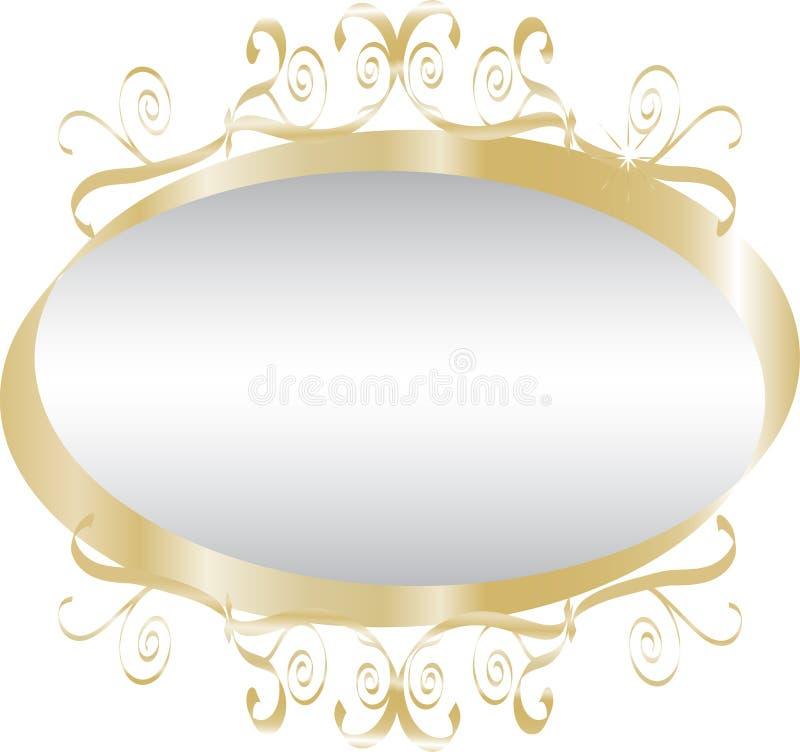 Espelho ilustração royalty free