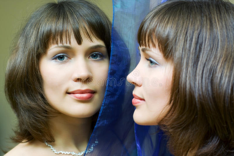 Espelho. fotos de stock royalty free