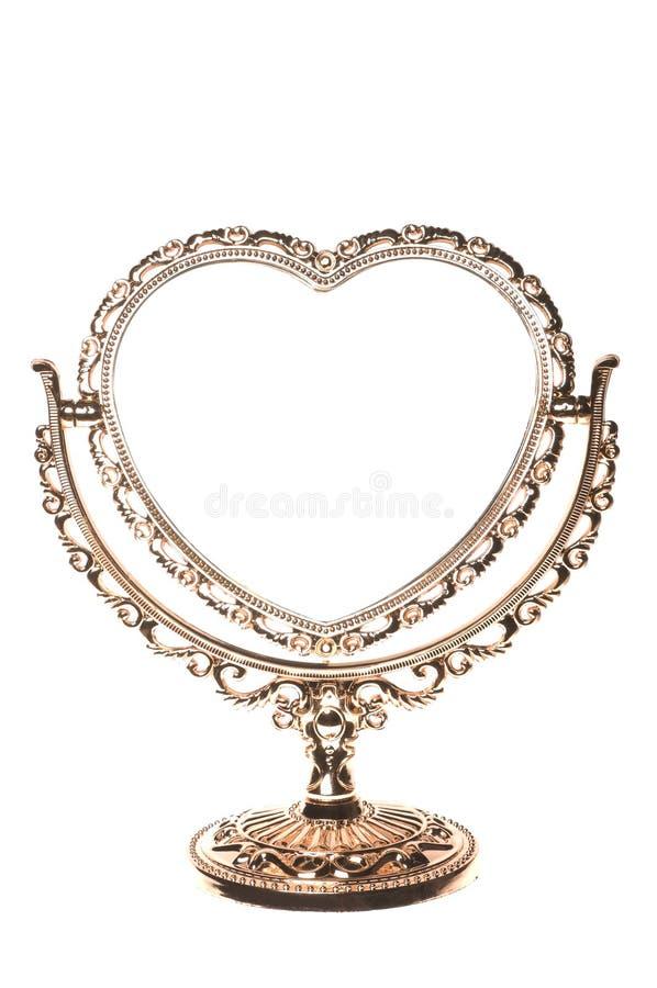 Download Espelho imagem de stock. Imagem de pearly, amor, quadro - 12810573