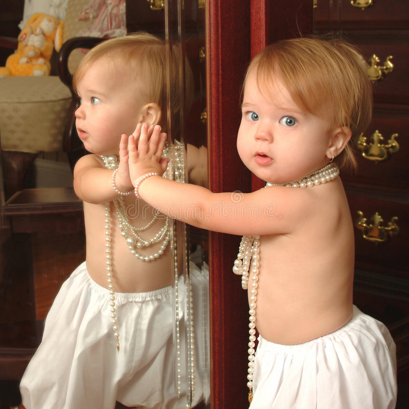 Espelho fotografia de stock royalty free