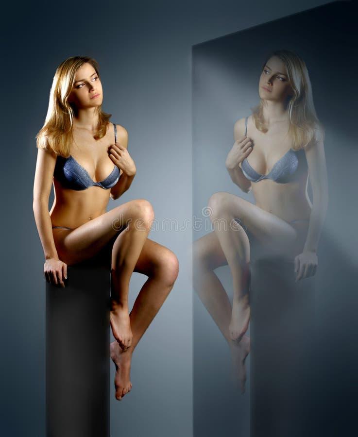 Espelho imagens de stock royalty free