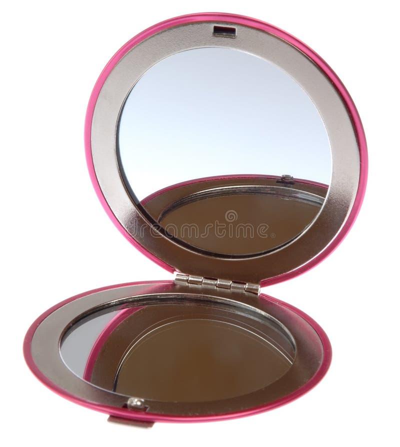 Espelho compacto imagens de stock