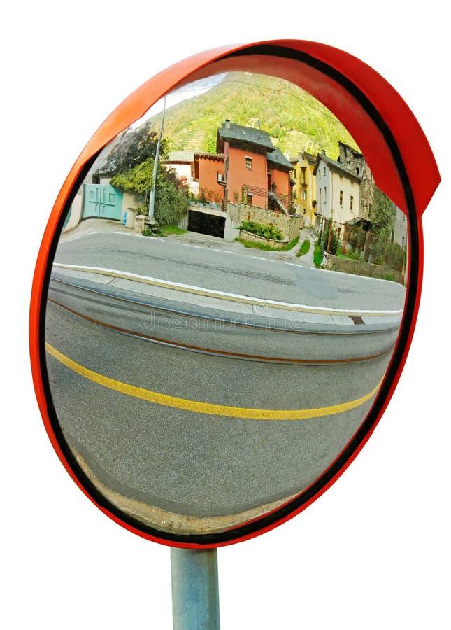 Espelho da segurança. foto de stock royalty free
