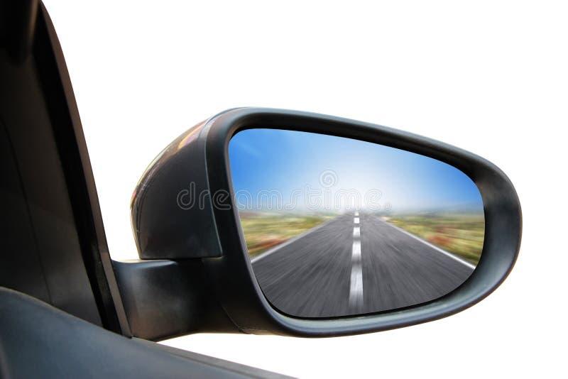Espelho de Rearview imagem de stock