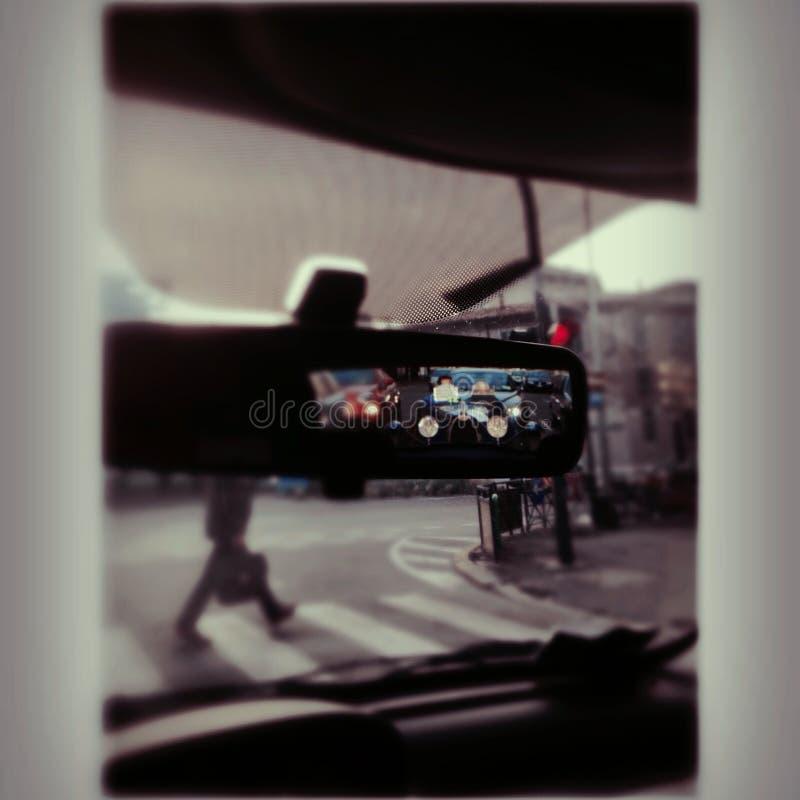 Espelho de Rearview Bugatti imagem de stock