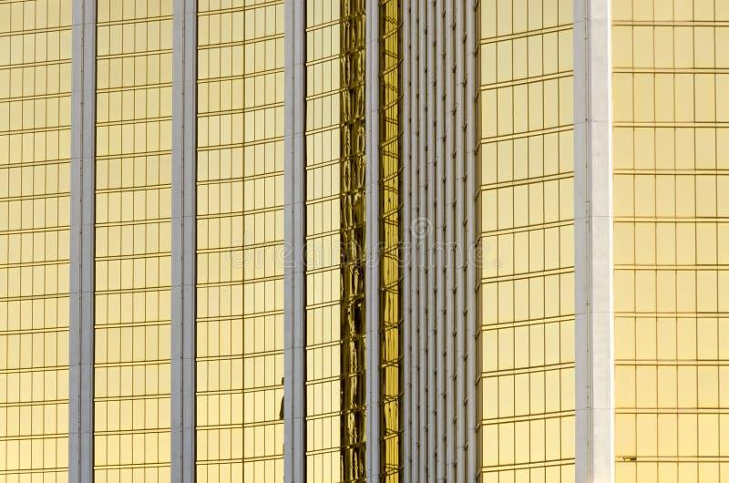 Espelhos em Las Vegas fotos de stock