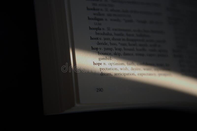 Download Esperança da palavra imagem de stock. Imagem de letras - 10052235