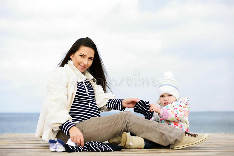 Esperando o bebê fotos de stock
