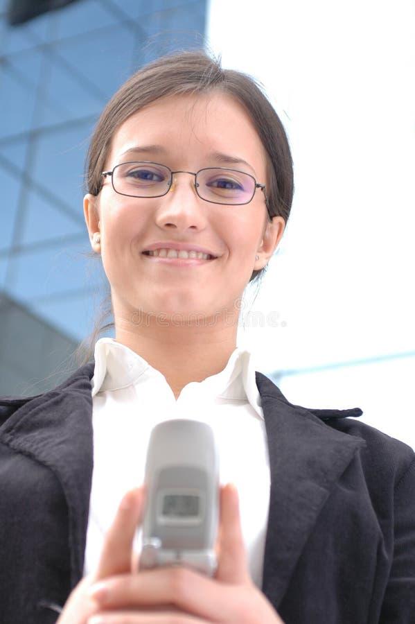 Download Esperando Seu Atendimento De Telefone Foto de Stock - Imagem de destiny, eyeglasses: 111588
