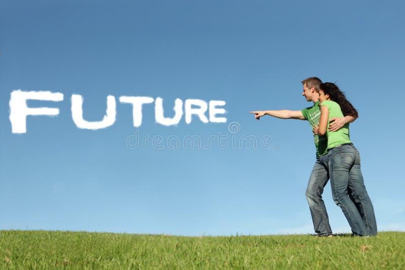 Esperanza del futuro imagenes de archivo