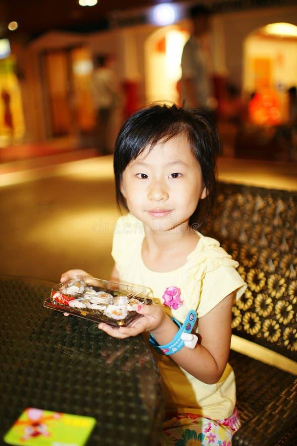 Esperienza cinese di vita professionale della ragazza fotografia stock
