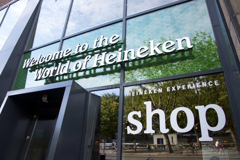 Esperienza dell'Heineken fotografie stock libere da diritti