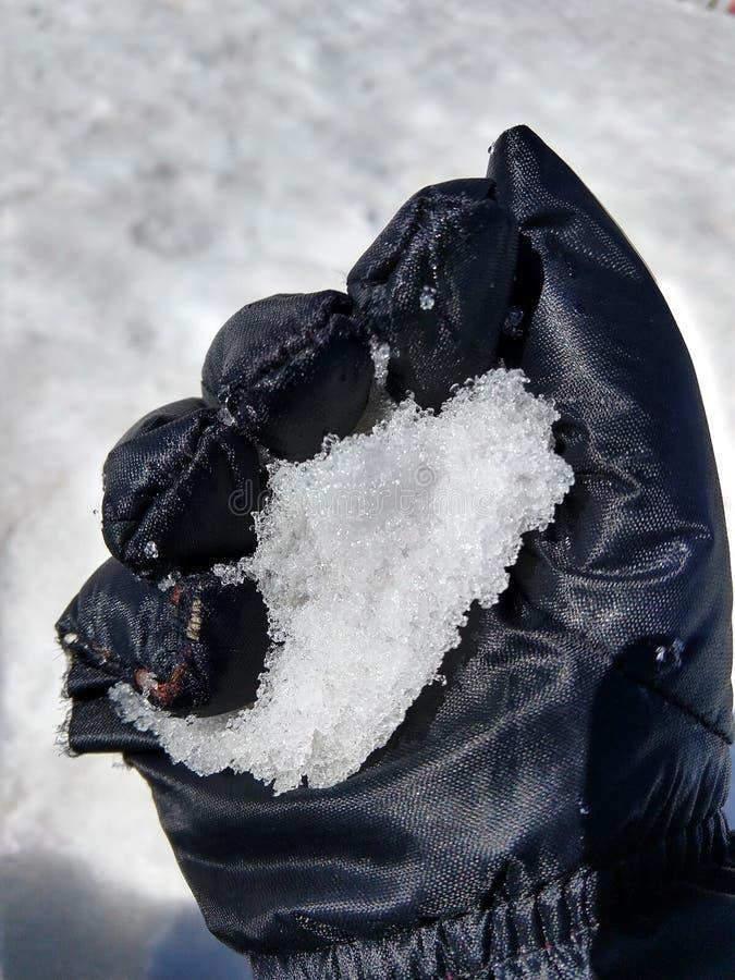 Esperienza di Snowy immagine stock
