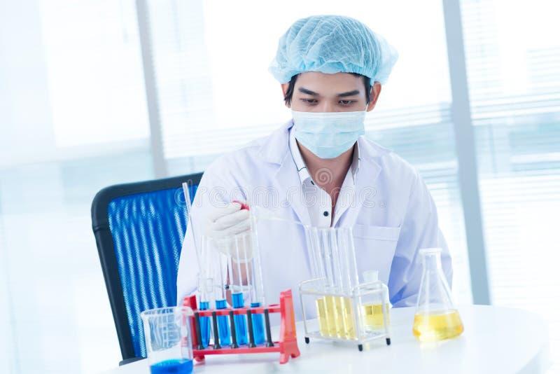 Esperimenti medici fotografia stock