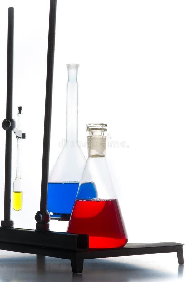 Esperimento di chimica fotografia stock libera da diritti