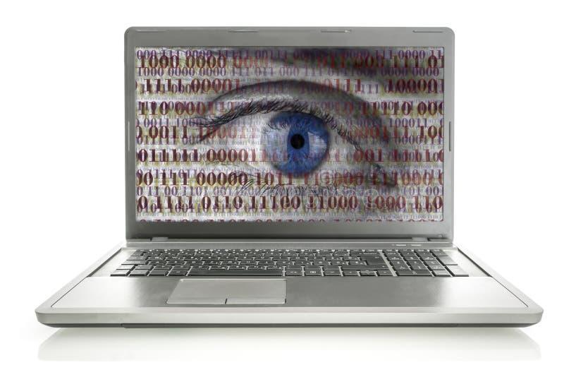 Espião do Internet imagens de stock