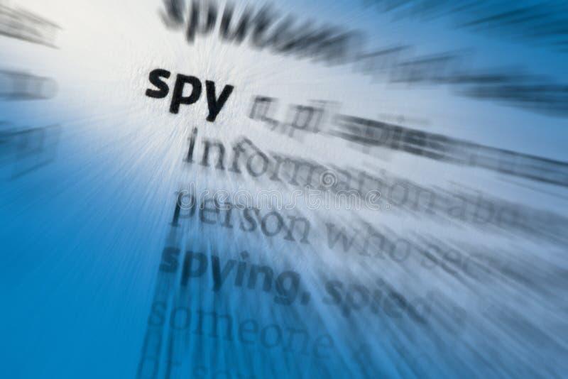 Espião - espiando imagens de stock royalty free