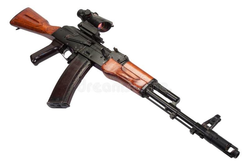 Espingarda de assalto do Kalashnikov AK fotografia de stock royalty free