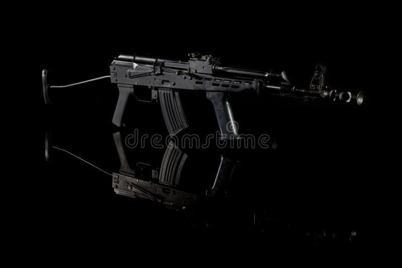 Espingarda de assalto do Kalashnikov AK imagem de stock